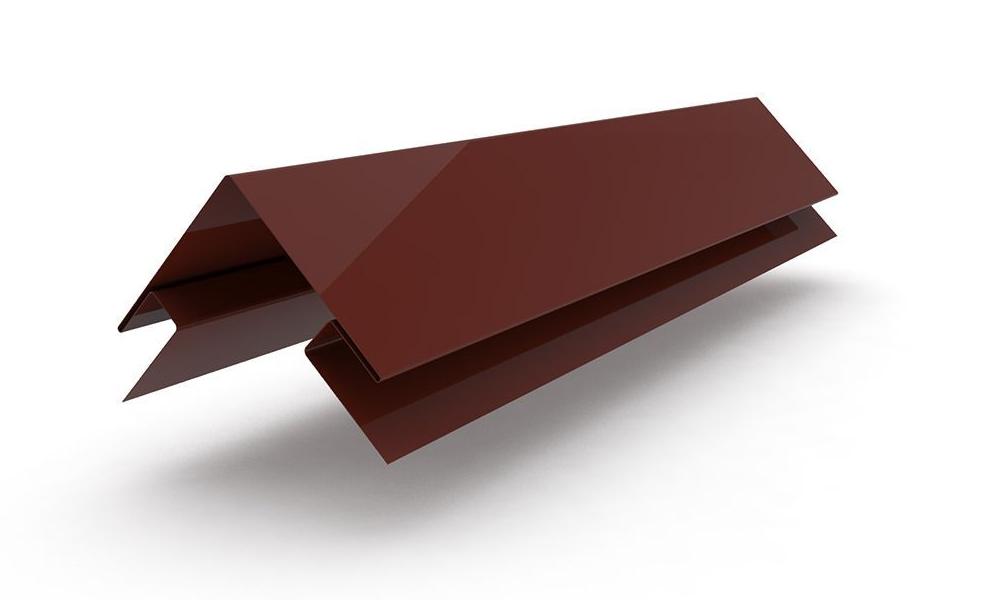 Металлическая планка угла наружного сложного