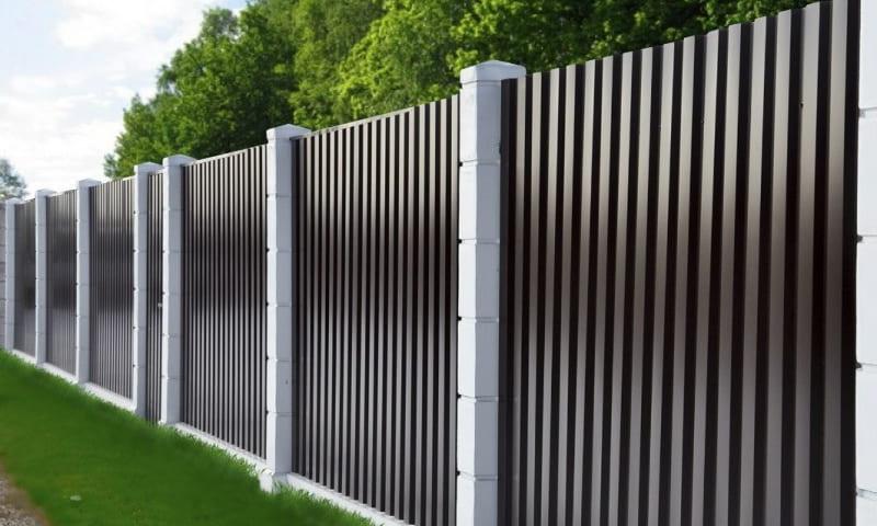 Профнастил ограда