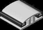 Алюминиевый соединительный профиль